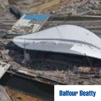 Balfour Beatty – The Aquatic Centre 2009 – 2012 Contract Value £520k