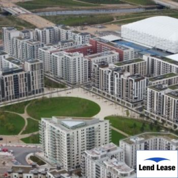 Lend Lease – Athletes Village 2008 – 2014 Contract Value £2.2m